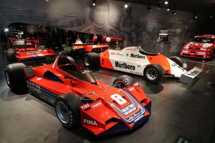 Brabham-Alfa BT45 i Alfa Rome 179