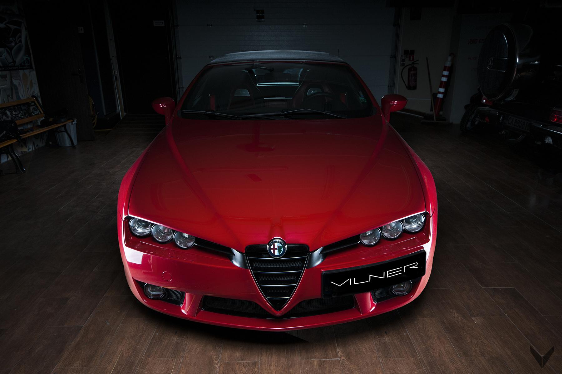 FOTO Alfa Romeo Spider novi život daje mu Vilner