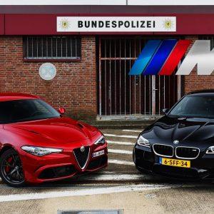 BMW M5 vs Giulia Quadrifoglio