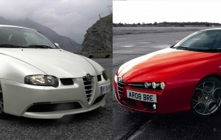 VIDEO: Alfa 147 GTA vs Alfa Brera 3.2 JTS