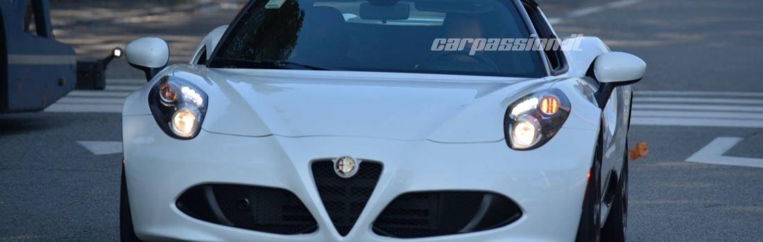 Kakav je to Alfa Romeo 4C Spider?