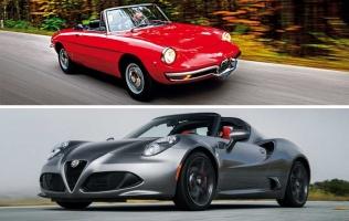 Poseban Alfa Romeo 4C Spider za 50. godišnjicu Duetta
