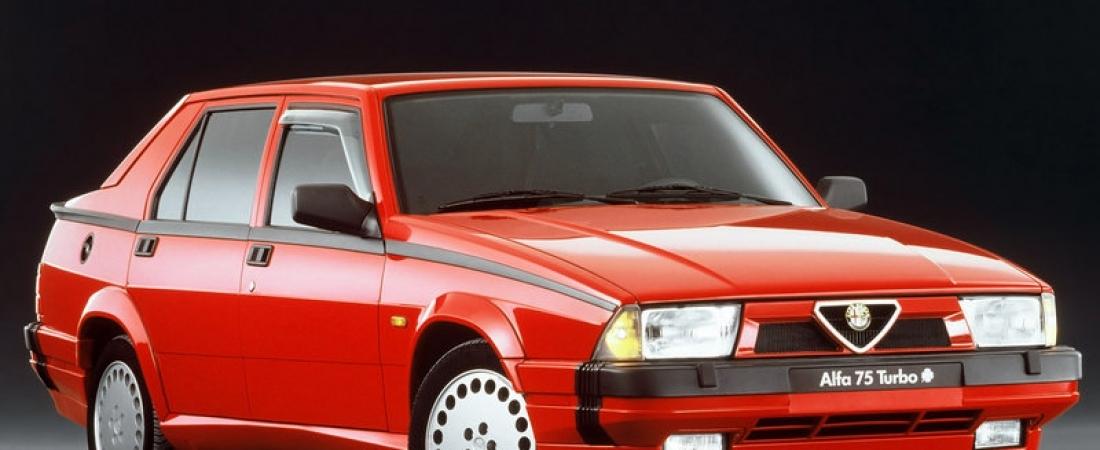 Trideset godina Alfa Romeo 75