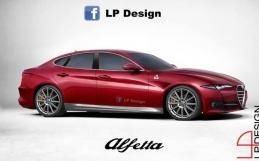 Alfa Romeo Alfetta, render buduće krstarice