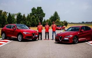 Alfa Romeo Giulia i Stelvio pokazuju moć Q4 pogona na ledu