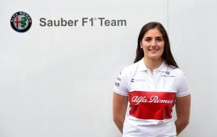 Testna vozačica za Alfa Romeo Sauber je Tatiana Calderon