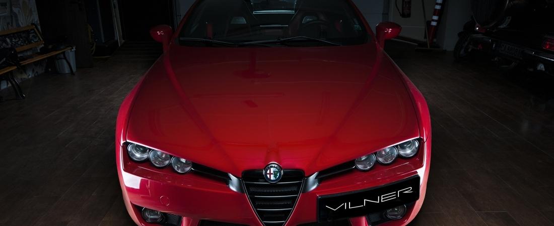 FOTO: Alfa Romeo Spider, novi život daje mu Vilner