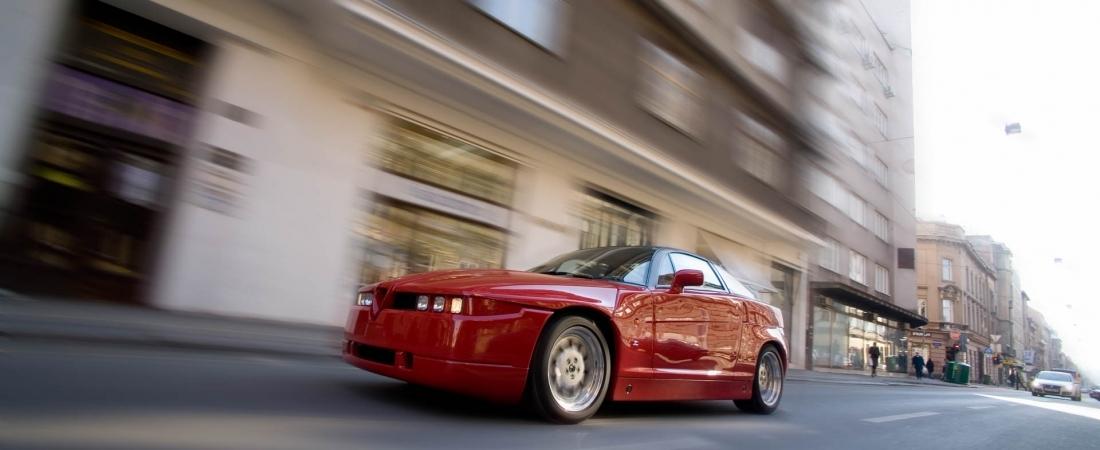 Alfa Romeo SZ: Zagatovo čudovište