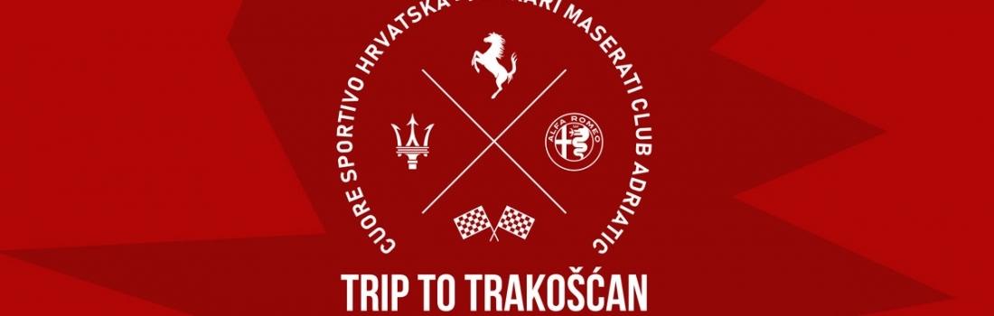 Trip To Trakošćan w/ Ferrari Maserati Club Adriatic