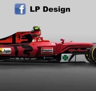 Alfa Romeo F1: Render za sanjarenje