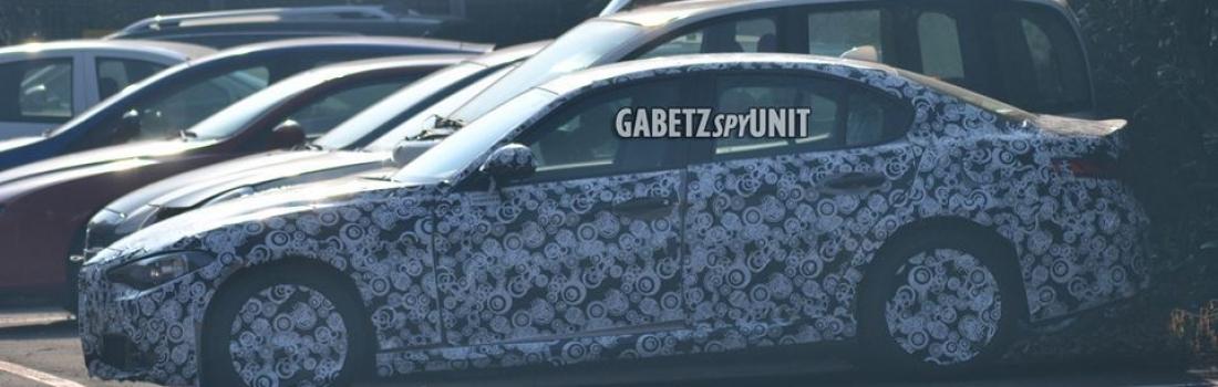 Alfa Giulia Progression: Nove špijunske fotke