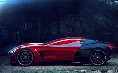 FOTO: Alfa Romeo C18 – Futuristički koncept talijanskog dizajnera