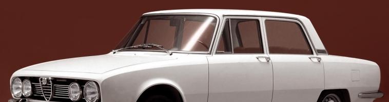 Alfa Romeo 1750: Pola stoljeća povijesne limuzine