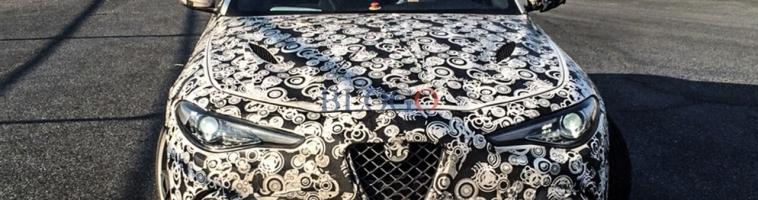 FOTO: Alfa Romeo Giulia Quadrifoglio na autocesti