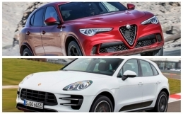 VIDEO: Alfa Romeo Stelvio Quadrifoglio vs. Porsche Macan Turbo