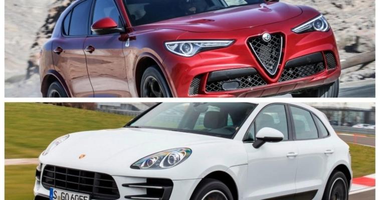 VIDEO: Alfa Romeo Stelvio Quadrifoglio vs. Porsche Macan Turbo