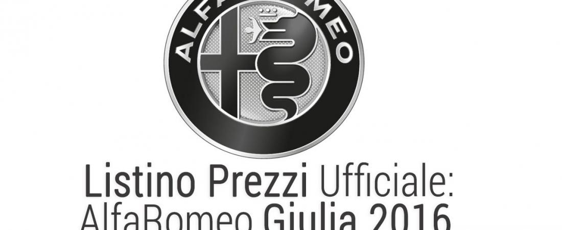 Alfa Romeo Giulia: Službene cijene za 2016.