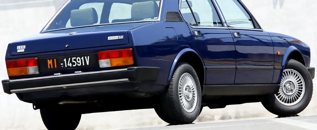 Alfa je izumila deaktivaciju cilindara 1981.