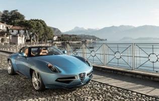 Alfa Romeo Disco Volante Spyder, najnovije djelo radionice Touring