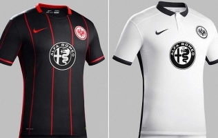 Novi znak za dresove Eintrachta