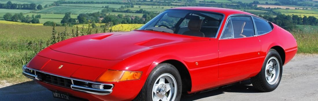 Izgorio rijedak Ferrari Daytona Rogera Watersa