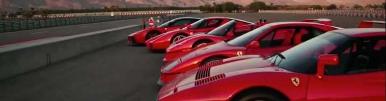 VIDEO: Pet Ferrari legendi na jednoj stazi