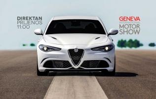 UŽIVO: Alfa Romeo predstavlja novitete u Ženevi