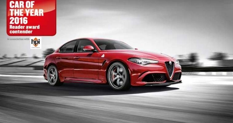 Alfa Romeo Giulia za Car Of The Year nagradu