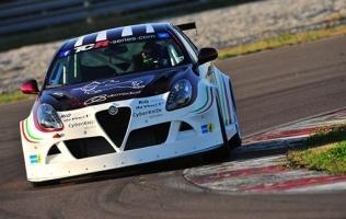 Alfa Giulietta TCR započela s testiranjem u Cremoni