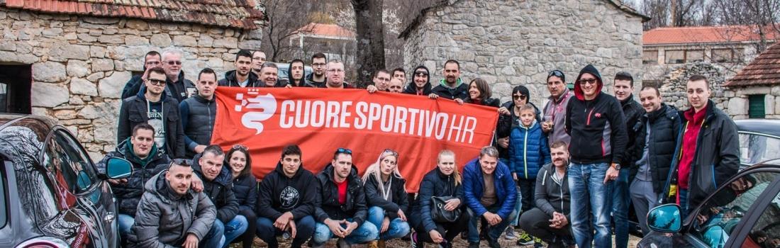 Cuore Sportivo HR posjetio Podstranu i Imotski