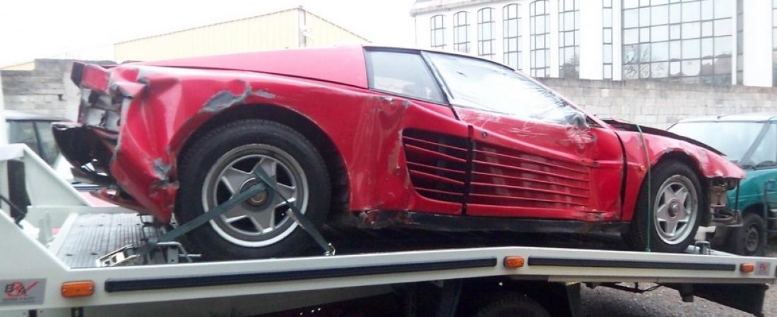 Šest godina restaurirao Ferrari Tastarossu